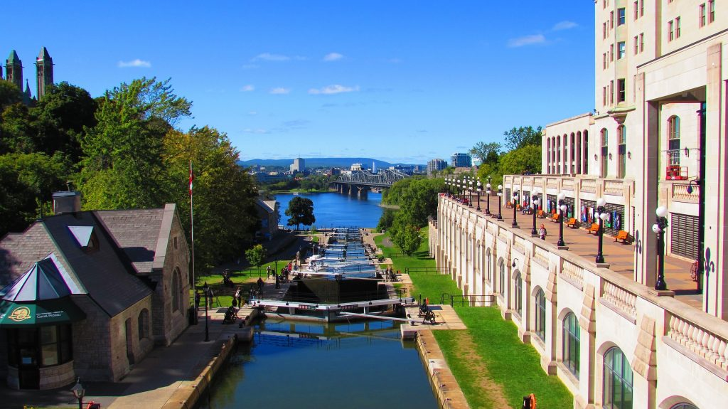 Ottawa Rideau Lock